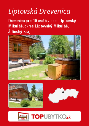 Liptovská Drevenica - TopUbytko.sk