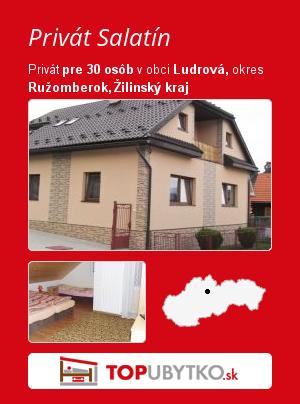 Privát Salatín - TopUbytko.sk