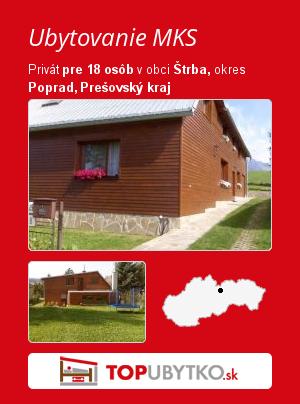 Ubytovanie MKS - TopUbytko.sk