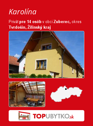 Karolína - TopUbytko.sk