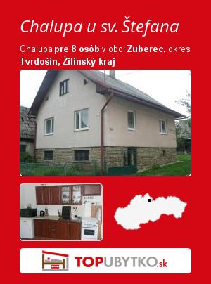 Chalupa u sv. Štefana - TopUbytko.sk