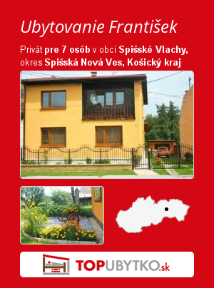 Ubytovanie František - TopUbytko.sk