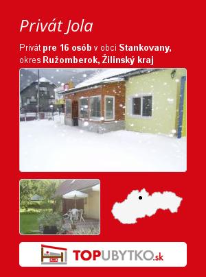 Privát Jola - TopUbytko.sk