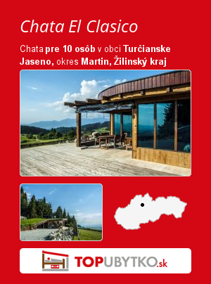 Chata El Clasico - TopUbytko.sk