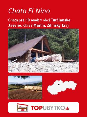 Chata El Nino - TopUbytko.sk