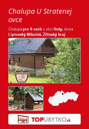 Chalupa U Stratenej ovce - TopUbytko.sk