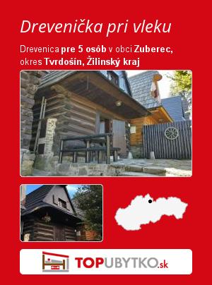 Drevenička pri vleku  - TopUbytko.sk