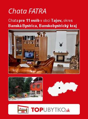 Chata FATRA - TopUbytko.sk