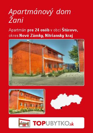 Apartmánový dom Žani - TopUbytko.sk
