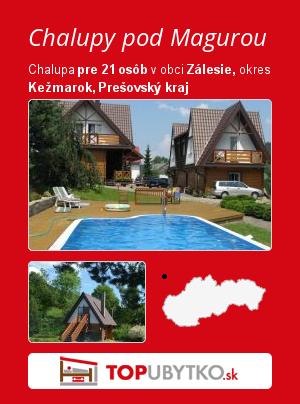 Chalupy pod Magurou - TopUbytko.sk