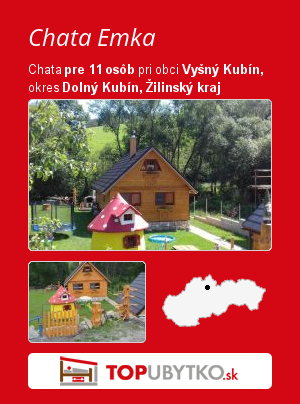 Chata Emka - TopUbytko.sk