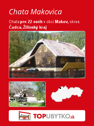 Chata Makovica - TopUbytko.sk