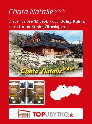 Chata Natalie*** - TopUbytko.sk