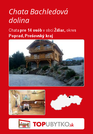 Chata Bachledka - TopUbytko.sk