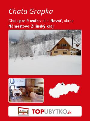 Chata Grapka - TopUbytko.sk