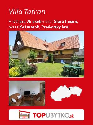 Villa Tatran - TopUbytko.sk