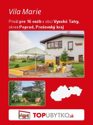 Vila Marie - TopUbytko.sk