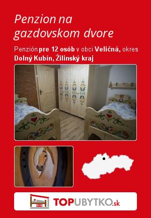 Penzion na gazdovskom dvore - TopUbytko.sk