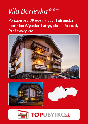 Vila Borievka*** - TopUbytko.sk