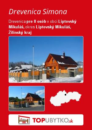 Drevenica Simona - TopUbytko.sk