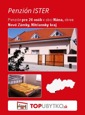 Penzión ISTER - TopUbytko.sk