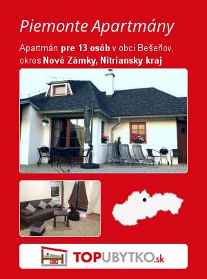 Piemonte Apartmány - TopUbytko.sk