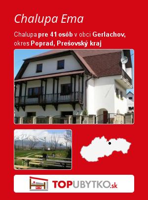 Chalupa Ema - TopUbytko.sk