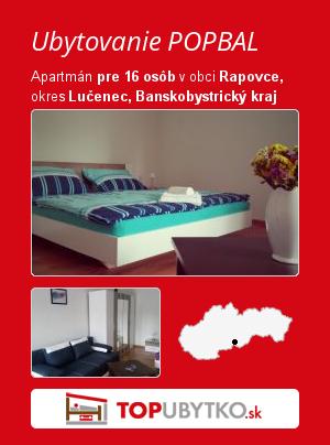 Ubytovanie POPBAL - TopUbytko.sk