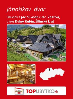 Jánošíkov dvor - TopUbytko.sk