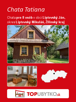 Chata Tatiana - TopUbytko.sk
