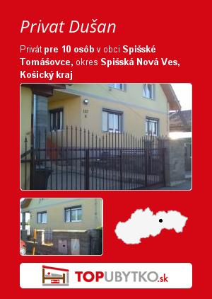 Privat Dušan - TopUbytko.sk