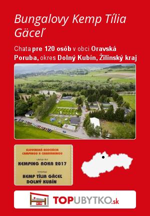 Bungalovy Kemp Tília Gäceľ - TopUbytko.sk