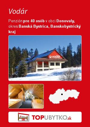 Vodár - TopUbytko.sk