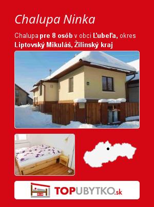 Chalupa Ninka - TopUbytko.sk