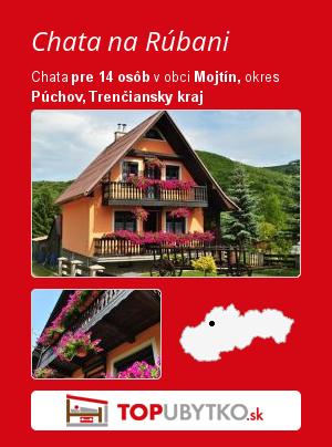 Chata na Rúbani - TopUbytko.sk