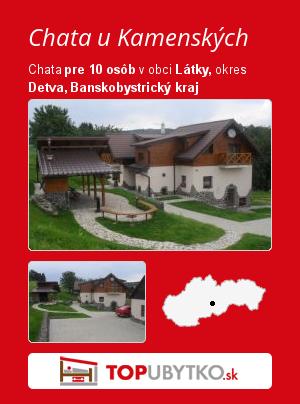 Chata u Kamenských - TopUbytko.sk