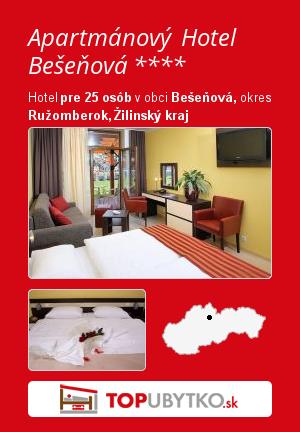 Apartmány GINO Paradise Bešeňová - Hotel LUKA **** - TopUbytko.sk