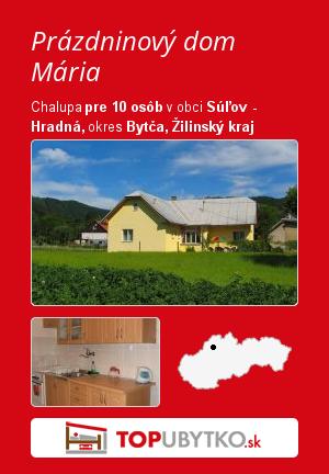 Prázdninový dom Mária - TopUbytko.sk