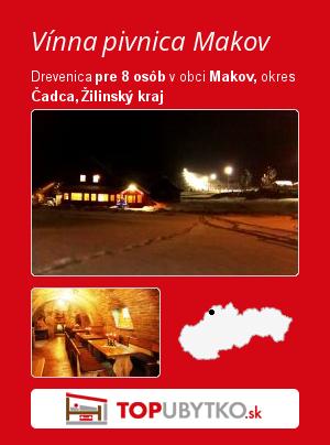Vínna pivnica Makov - TopUbytko.sk