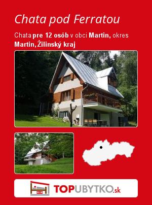 Chata pod Ferratou - TopUbytko.sk