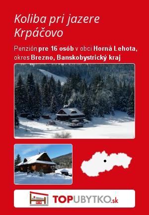 Koliba pri jazere Krpáčovo - TopUbytko.sk