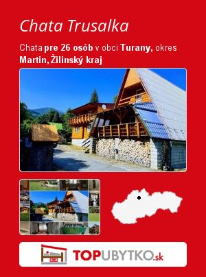 Chata Trusalka - TopUbytko.sk