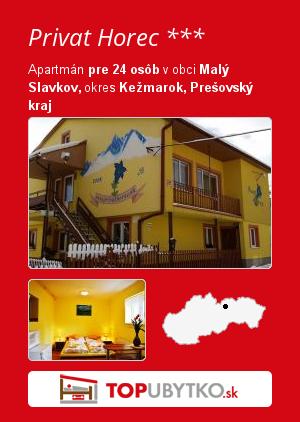 Privat Horec *** - TopUbytko.sk