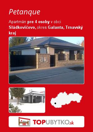Petanque - TopUbytko.sk