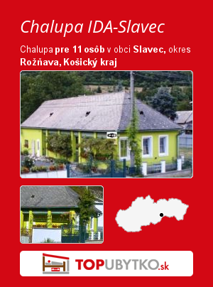 Chalupa IDA-Slavec - TopUbytko.sk