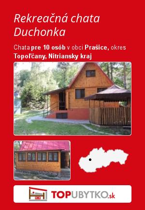Rekreačná chata Duchonka - TopUbytko.sk