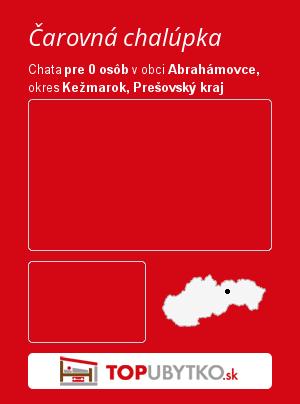 Čarovná chalúpka - TopUbytko.sk