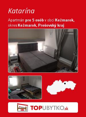 Katarína - TopUbytko.sk